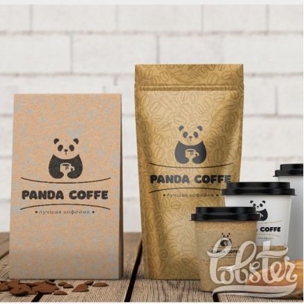 """разработка фирменного стиля для кофейни """"Panda coffe"""""""