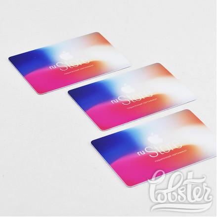 макет для пластиковых карт