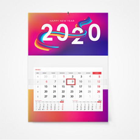 Дизайн календарей в Омске